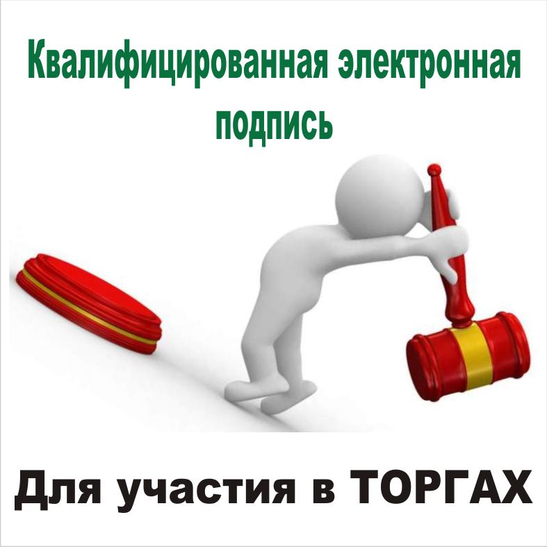 Электронная подпись (ЭЦП) для торгов