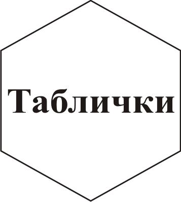Изготовление табличек